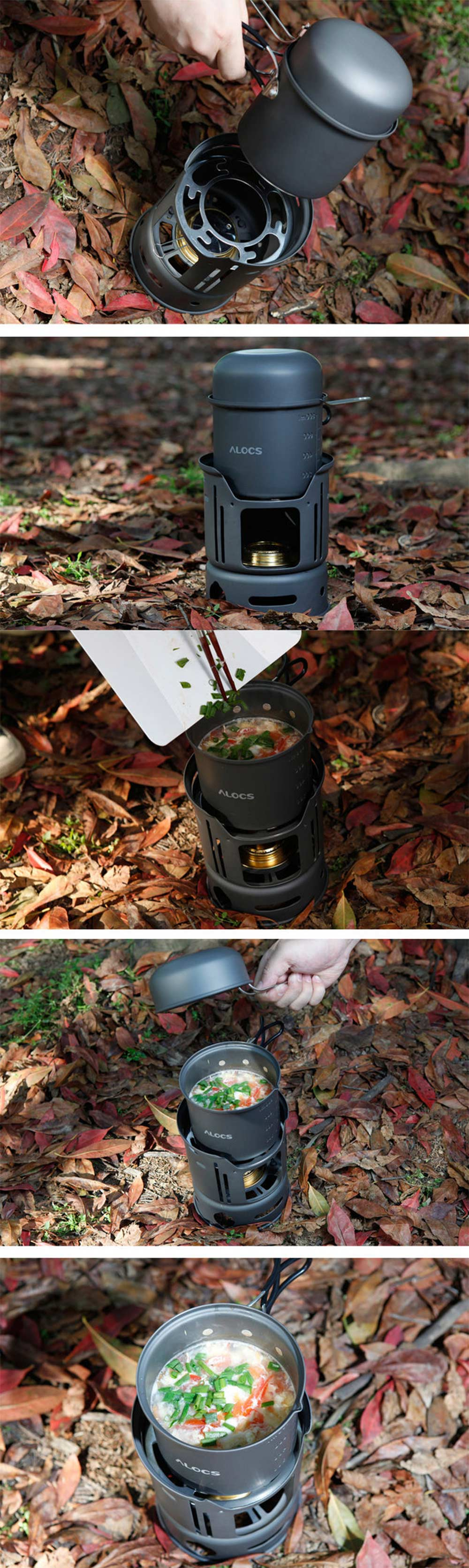 ALOCS CW-C01 7pcs Out of doors Tenting Cooking Set Moveable Range Tenting Cookware Pots Bowl Cooker Range Picnic BBQ Journey 1-2Person HTB1Czknm8USMeJjy1zjq6A0dXXa1