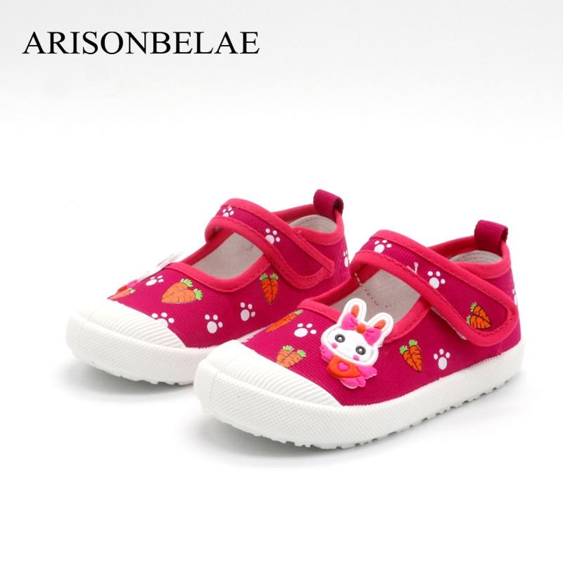 Kinderschoenen Meisjes Sneakers Bloemen Dieren Konijn Casual Sport - Kinderschoenen - Foto 3