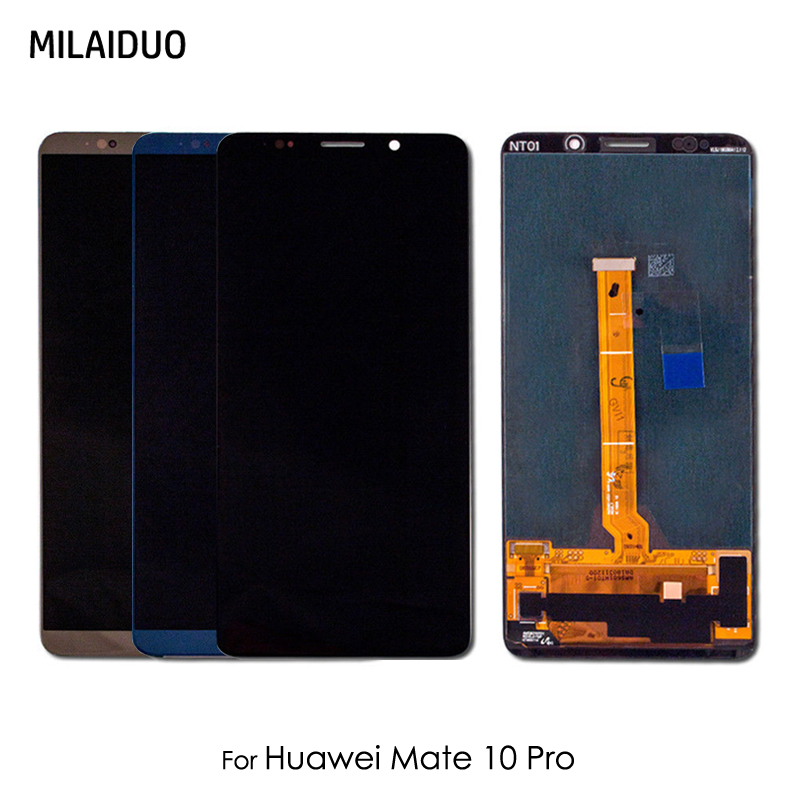 LCD Display For HUAWEI Mate 10 Pro Touch Screen Digitizer No LOGO Assembly Replacement Parts Black Blue 6.0 100% TestedLCD Display For HUAWEI Mate 10 Pro Touch Screen Digitizer No LOGO Assembly Replacement Parts Black Blue 6.0 100% Tested