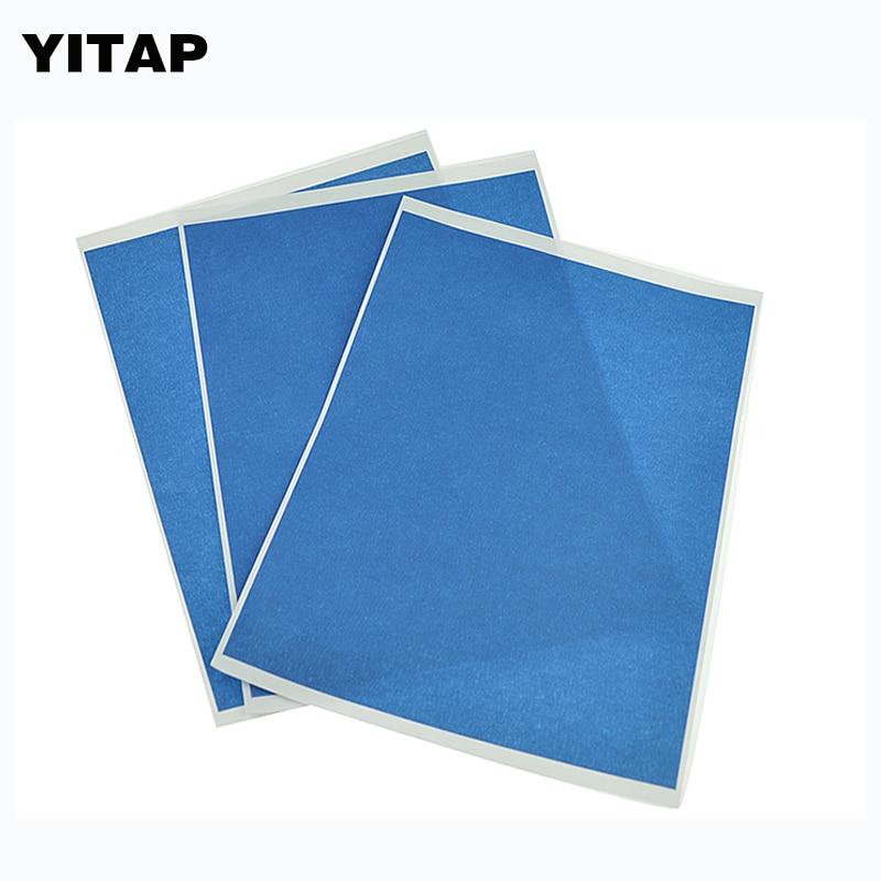 10 листов * 200 мм * 275 мм 3D принтер для очаг синий изоляционная лента клейкая лента