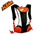 Wholesale Latest KTM Motorcycle bag Motocross cycling backpack Multifunction travel bag With Insulated water bag