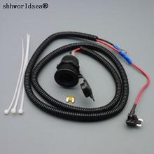Shhworld Sea 1 компл. 1 м 1,5 мм2 разъем прикуривателя автомобиля 12 в расширение Micro предохранитель кран держатель свинец