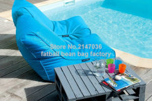 beach bean bag chair, outdoor garden sofa seat, external beanbag sitsack, door side home furniture set