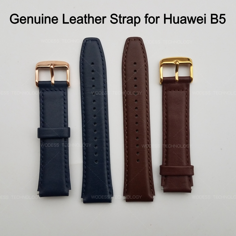 Huawei Strap B5 Talkband Wrist-Band-Belt Replacement for Genuine-Leather