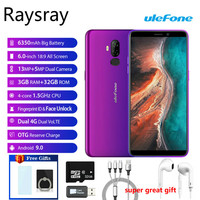 4G LTE Cellphone P6000 Plus Android 9.0 6350mAh Smartphone 6.0inch Face ID HD+ Dual Camera Ouad Core 3GB 32GB Mobile phone New