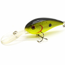 15G 10.5cm Big Temptation Fishing Lures Minnow Crank Bait Crankbait Bass Tackle Treble Hook bait wobblers fishing  free shipping