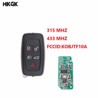 5 Buttons Smart Remote Car Key 315MHz/ 433MHz For Land Rover Range Rover Sport Discovery 4 2009 2011 key
