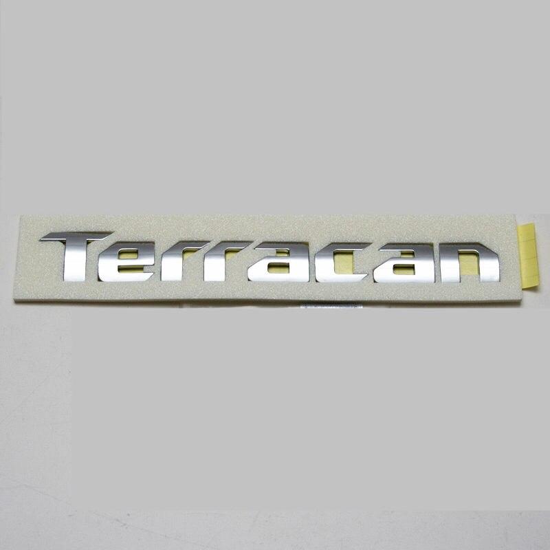 genuino tronco traseiro bagageira logotipo emblema para hyundai terracan tronco traseiro tampa logotipo emblema 86310h1020 86310