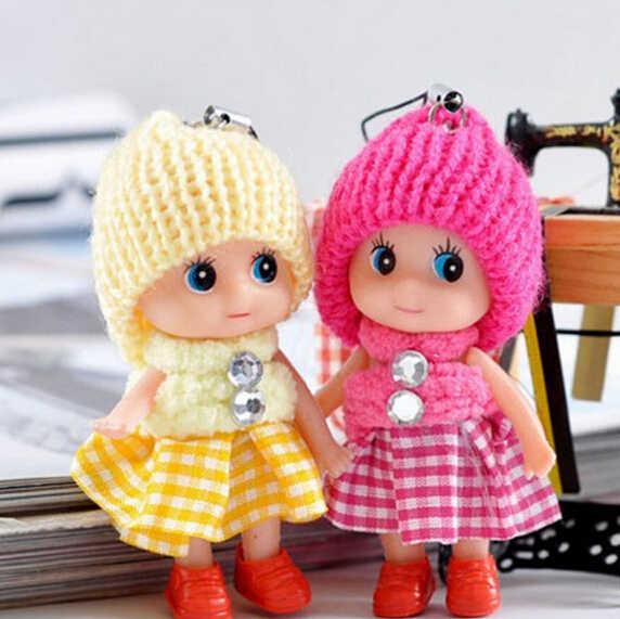 2019 Venta caliente juguetes para niños suave muñecas interactivas juguete Mini muñeca para niñas y niños muñecas y juguetes de peluche