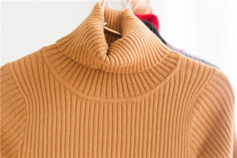 baby girl kids ribbed turtleneck sweater winter autumn knitted neck regular tops boy children infant toddler jumper 1 2 3