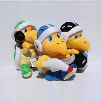 8 20cm Super Mario Bros Plush Toys Koopa Troopa With Hammer Bomb Stuffed Dolls Gift For