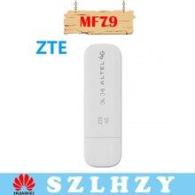 Разблокированный zte MF79/MF79U 4G мобильный WiFi точка доступа 150 Мбит/с Wingle 4 г USB Dongle модем для автомобиля 10 пользователей+ слот для sim-карты PK E8372 E3372