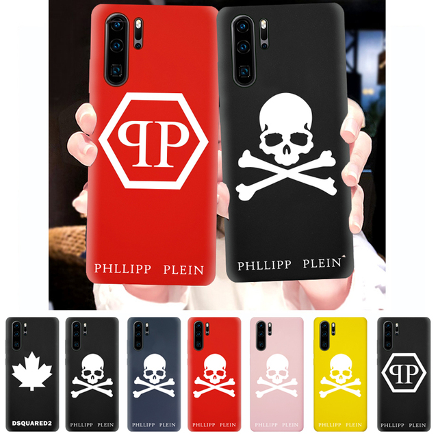 Sport Phone Case For Huawei P30 P20 P10 Pro Lite Plus Silicone Cover Soft TPU Protective Back Smart Cases Skull