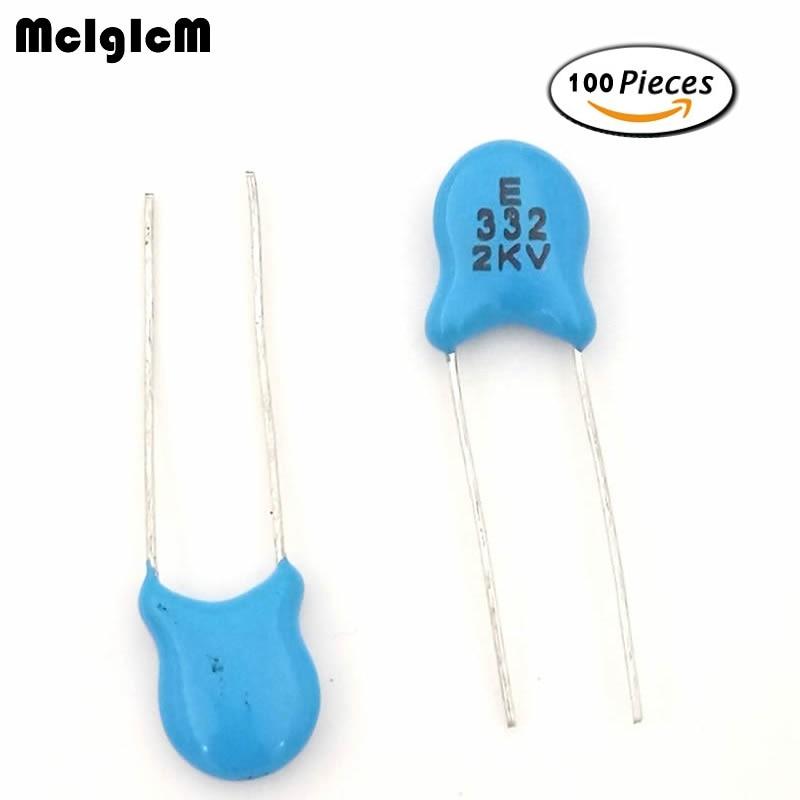 F018 08 3 3nf 332 2kv 100pcs High Voltage Ceramic