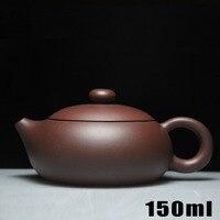 Hot Sale Teapot Yixing Teapots 150ml Purple Clay Ceramic Chinese Handmade Zisha Set Porcelain Kettle High