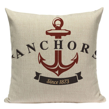 Anchor Throw Pillow Cover