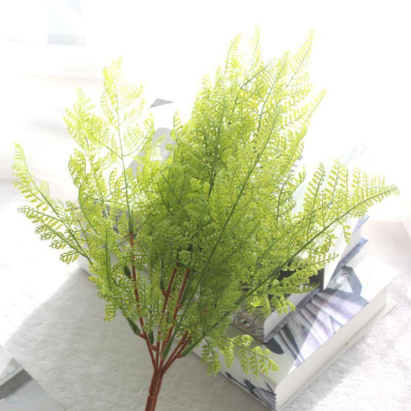 2017 artificial fern plants 1 bouquet fake fern leaves for Cheap garden plants
