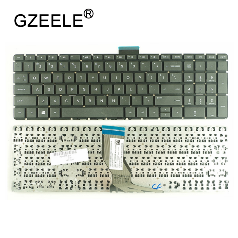 все цены на GZEELE For HP 250 G6 255 G6 256 G6 258 G6 Series English Laptop Keyboard US Black Without Frame онлайн