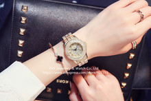 2017 New Fashion Women Watches, High Quality Austrian Diamond Women Rhinestone Watches, Rose Gold Woman Lady  Dress Watch Clocks