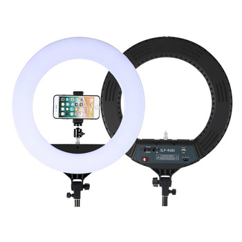 18 Inch Photo Studio lighting LED Ring Light 448PCS Bulbs 3200-5600k Photography Dimmable Ring Lamp  for Video,Makeup Photographic Lighting