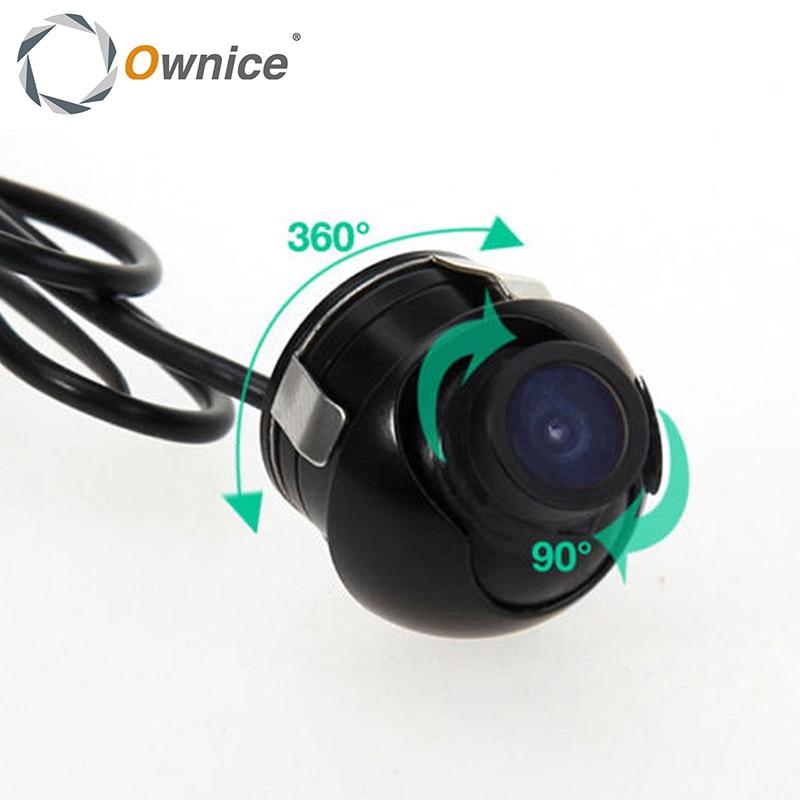 imágenes para Owince 170 Gran Angular Opinión Posterior Del Coche Impermeable de Color CMOS de Reserva del Revés Parking Cámara