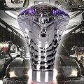 2015 New Car legal Cobra cabeça engrenagem modificação do carro geral com luzes LED R manual da Shift de engrenagem Knob