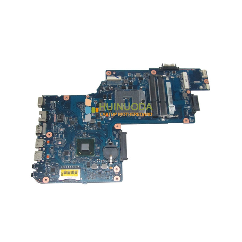 NOKOTION H000038380 laptop motherboard for toshiba satellite C850 Intel hm76 DDR3 PGA989 Mainboard nokotion for toshiba satellite c850d c855d laptop motherboard hd 7520g ddr3 mainboard 1310a2492002 sps v000275280