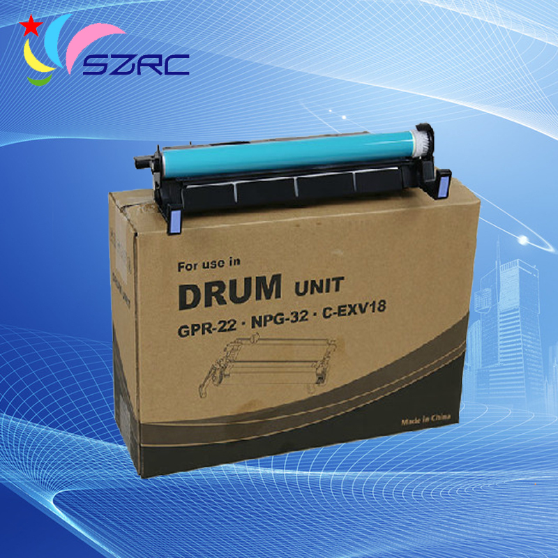 High Quality NPG-32 GPR-22 C-EXV18 Copier Drum Unit Compatible For Canon G32 iR1018 1019 1020 1022 1023 1024 1025 compatible canon imagerunner 1018 1019 1022 1023 1023n 1023if 1024a 1024f 1024i 1024if 1025 n1025 if1025 black image drum unit