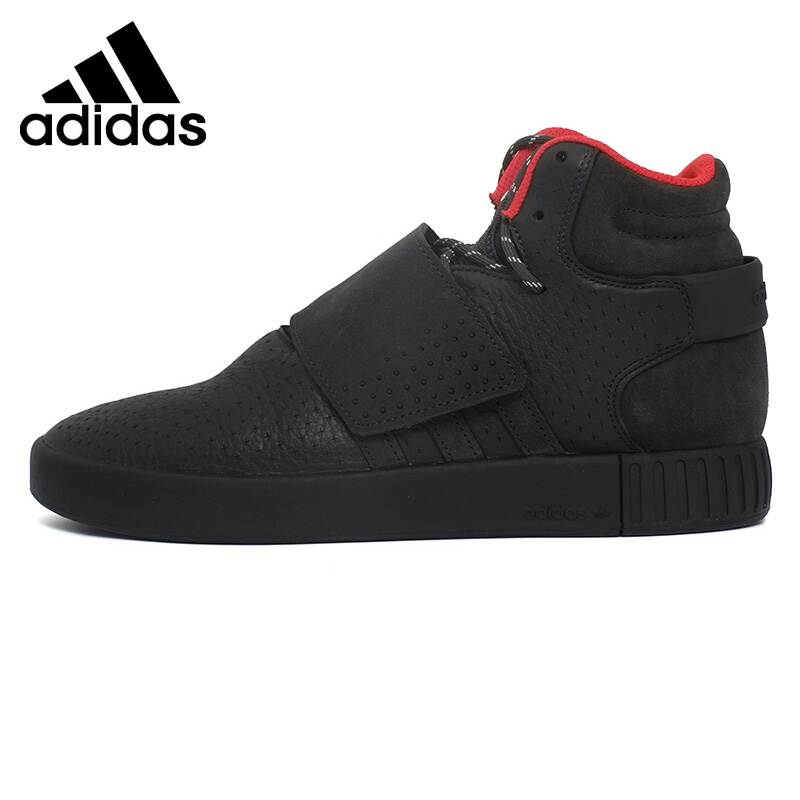 Original New Arrival  Adidas Originals TUBULAR INVADER STRAP Unisex Skateboarding Shoes Sneakers