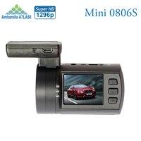 New Upgrade Mini 0806s Auto Dash Camera DVR Ambarella A7 1296P 1080P HDR Car Black Box