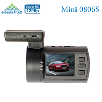 New Upgrade Mini 0806s Auto Dash Camera DVR Ambarella A7 1296P 1080P HDR Car Black Box