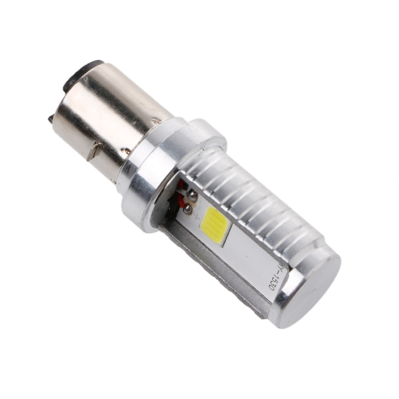 12 Вт H6 мотоциклетные лампы светодиодные лампы Hi/Lo луч фар переднего света для Honda Kawasaki ...