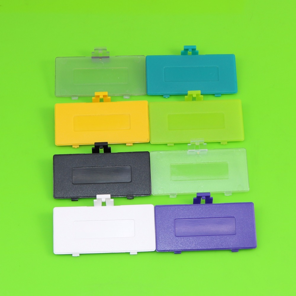 50PCS For GameBoy Pocket GBP New Battery Cover Lid For GAMEBOY GBP Battery Door Replacement
