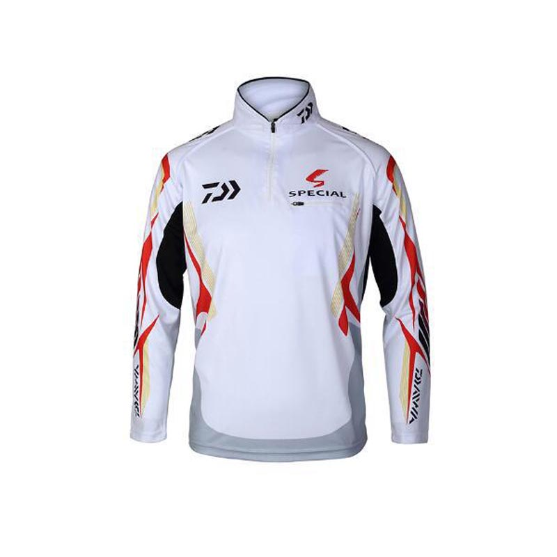 Image 4 - 2018 New Men blouse Brand DAIWA Fishing Clothing UV Protection Moisture Wicking Breathable Long Sleeve Fishing Shirt-in Fishing Clothings from Sports & Entertainment