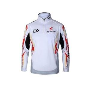 Image 4 - 2018 New Men blouse Brand DAIWA Fishing Clothing UV Protection Moisture Wicking Breathable Long Sleeve Fishing Shirt