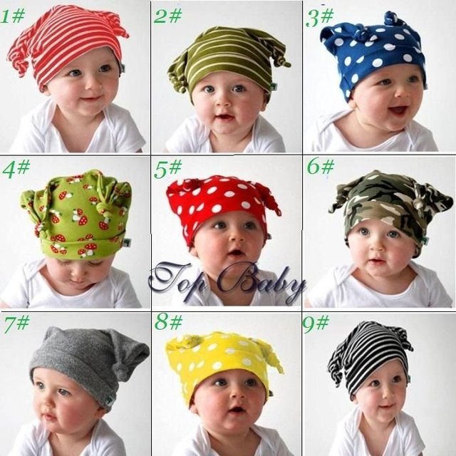 2012 NEWEST baby cotton hat, infant double-deck knitting cap warmer ,CBRL new product promotion wholesale,EMS/DHL free shipping