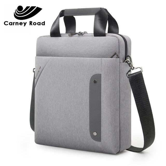 Деловая 13 дюймовая сумка мессенджер carneyroad для Ipad, Высококачественная водонепроницаемая сумка через плечо, повседневная мужская сумка Кроссбоди из ткани Оксфорд, 2019