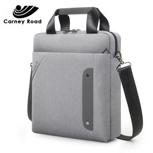 Image 1 - carneyroad Business 13 Inch Ipad Men Messenger Bag High Quality Waterproof Shoulder Bag Oxford Casual Men Crossbady Bag 2019