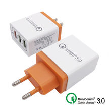Universal 18W Mobile Phone Fast charger USB Quick charge 3.0 5V 3A for Iphone 7 8 EU US Plug charging for Samsug s8 s9 Huawei(China)
