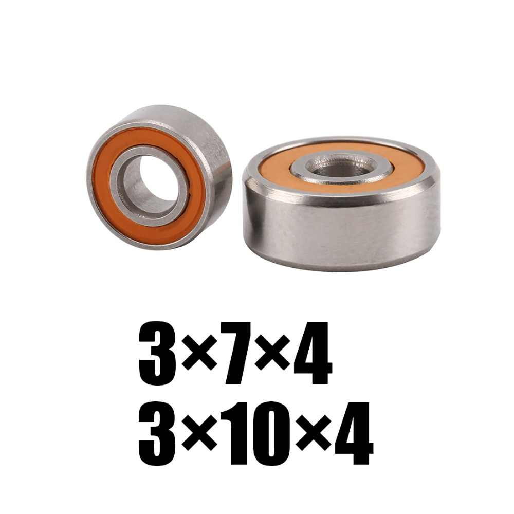 2P/LOT Ball Bearings stainless steel hybrid for SHIMANO ALDEBARAN BFS, CALCUTTA CONQUEST 50 12 Stephano