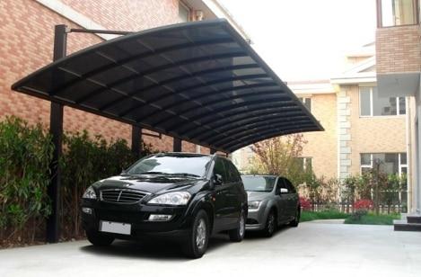 New and hot durable aluminum alloy frame carport canopy ...