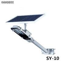 Wholesale 3 Pcs Lot 12 LEDs Automatical Solar Street Lights 6V 10W Solar Powered Panel Outdoor