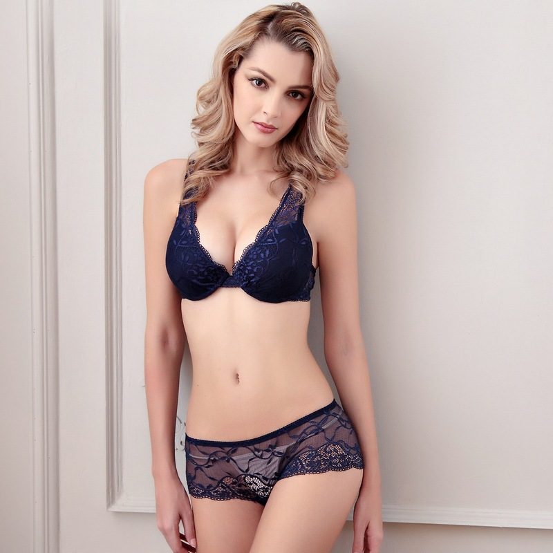 Aliexpress.com : Buy Hot Sexy Lace Bra Set Push up Lingerie Women ...