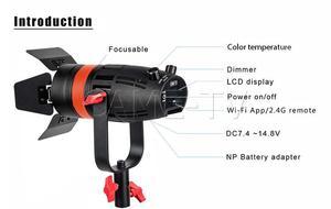 Image 5 - 3 Pcs CAME TV Boltzen 55w Fresnel Focusable LED Bi color Package Led video light