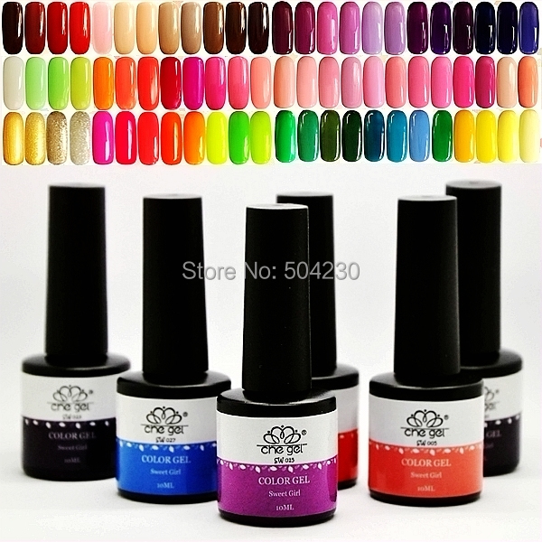 3PCS Che Sweet Girl Gel Color Soak Off Gel Nail Polish Set Nail Art ...