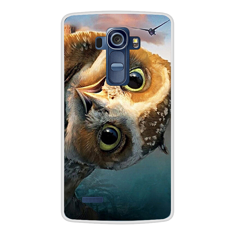 Image 4 - For LG G4 Case Luxury Cute Cat Painting Back TPU Cover for coque LG G4 Case for fundas LG G4 Cover Case H810 H811 H815 5.5 inch-in Fitted Cases from Cellphones & Telecommunications