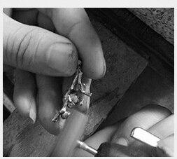 feminino broche pinos luxo jóias artesanais go0332b