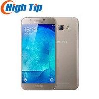 Abierto Original Samsung Galaxy A8 A8000 Teléfono Móvil 5.7 ''Octa Core 16.0MP Cámara Android 5.1 2 GB RAM 16 GB ROM reformado