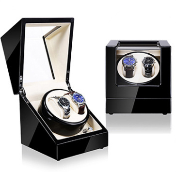 New Wooden Watch Winder Black Automatic Self Watch Winders  Quanlity Watch Storage Boxes Case Wood Mechanical Watch Gift Case | Watch Boxes