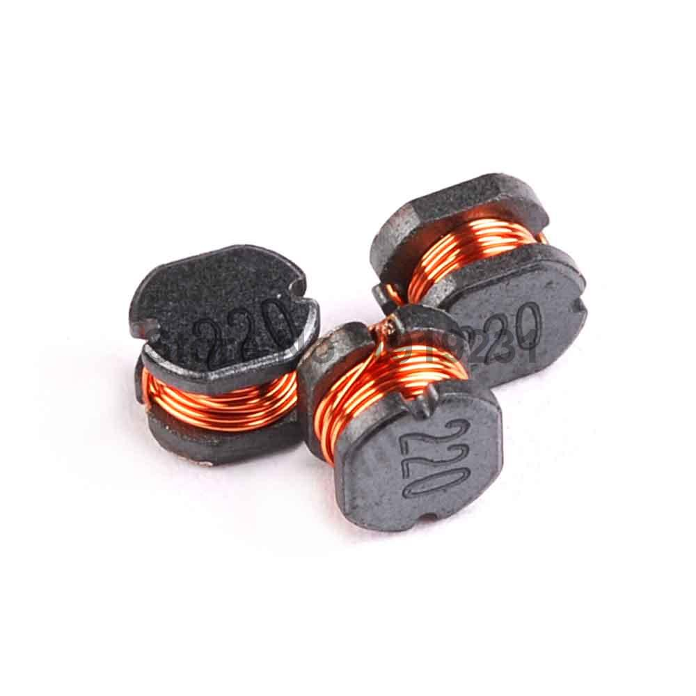 20PCS CD43 22UH 220 1A Wound Power Inductors
